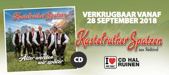 Kastelruther Spatzen - Alter Werden Wir Spater - CD