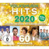 Volksmusik Hits 2020 - 2CD+DVD