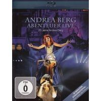 Andrea Berg - Abenteuer Live -  20 Jahre - Blu Ray