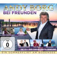 Andy Borg - Bei Freunden - Ein Sommerflirt Am Bodensee - CD+DVD