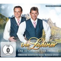 Die Ladiner - Die 10 Gebote Der Heimat - Deluxe Edition - CD+DVD