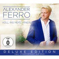 Alexander Ferro - Voll Ins Herz Hinein - Deluxe Edition - CD+DVD