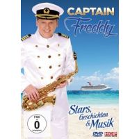 Captain Freddy - Stars, Geschichten & Musik - DVD