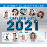 Unsere Hits 2021 - 2CD+DVD