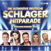 Die Ultimative Deutsche Schlager Hitparade - Fruhjahr / Sommer 2021 - 5CD