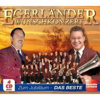 Egerlander Wunschkonzert - Zum Jubilaum - Das Beste - 4CD