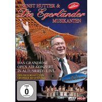 Ernst Hutter Und Die Egerlander Musikanten - Das Grandiose Open Air Konzert Altusried Live - DVD