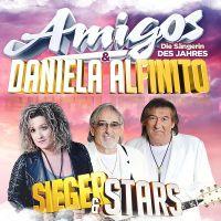 Amigos & Daniela Alfinito - Sieger & Stars - CD