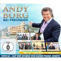 Andy Borg - Bei Freunden - Opatija - CD+DVD