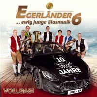 Egerlander6 - Vollgas! - 10 Jahre - CD