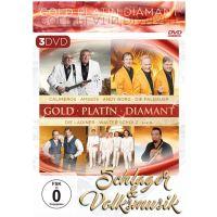 Gold Platin Diamant - Schlager, Volksmusik & Instrumental - 3DVD