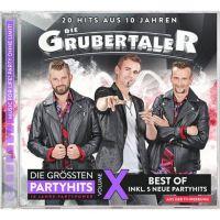 Die Grubertaler - Die Grossten Partyhits - Volume X - CD