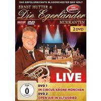 Ernst Hutter & Die Egerlander Musikanten - Live Im Circus Krone München Und Open Air in Altusried - 2DVD