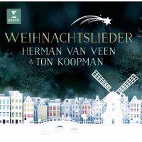 Herman van Veen & Ton Koopman - Weihnachtslieder - CD