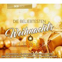Die Beliebtesten Weihnachtslieder - 3CD