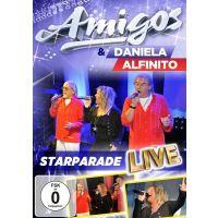 Amigos & Daniela Alfinito - Starparade Live - DVD