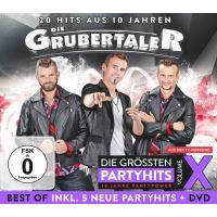 Die Grubertaler - Die Grossten Partyhits - Volume X - CD+DVD