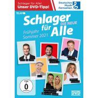 Schlager Fur Alle - Die Neue - Fruhjahr/Sommer 2021 - DVD