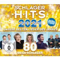 Schlager Hits 2021 - 3CD+DVD