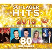 Schlager Hits 2019 - 3CD+DVD