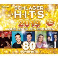 Schlager Hits 2019 - 3CD+DVD