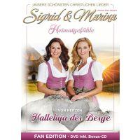 Sigrid und Marina - Halleluja Der Berge - Fan Edition - DVD+CD