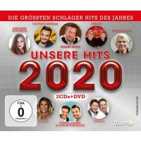 Unsere Hits 2020 - 2CD+DVD