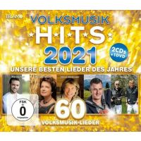 Volksmusik Hits 2021 - 2CD+DVD