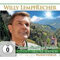 Willy Lempfrecher - Fur Die, Die Mir Viel Bedeuten - Deluxe Edition - CD+DVD